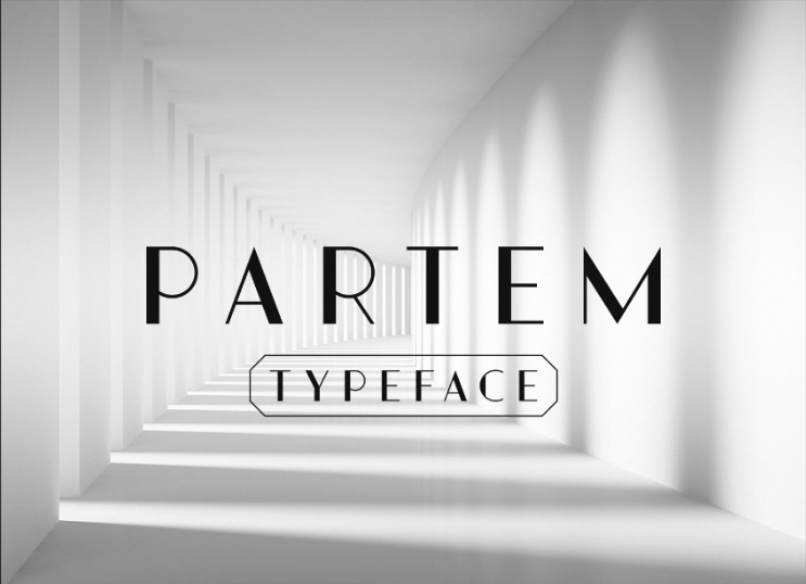 Partem Free Typeface