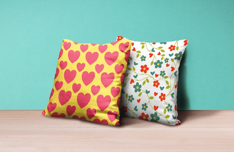 Pillows Mockup PSD Free Template