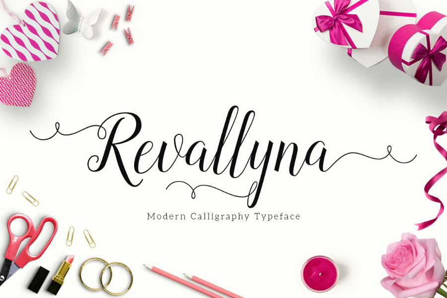 Revallyna Free Script Typeface