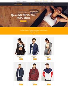 LT Sportswear – Free Responsive Sportswear WordPress Theme