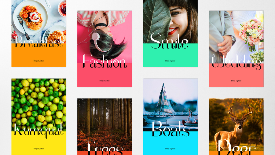 Drops Display Serif Fonts
