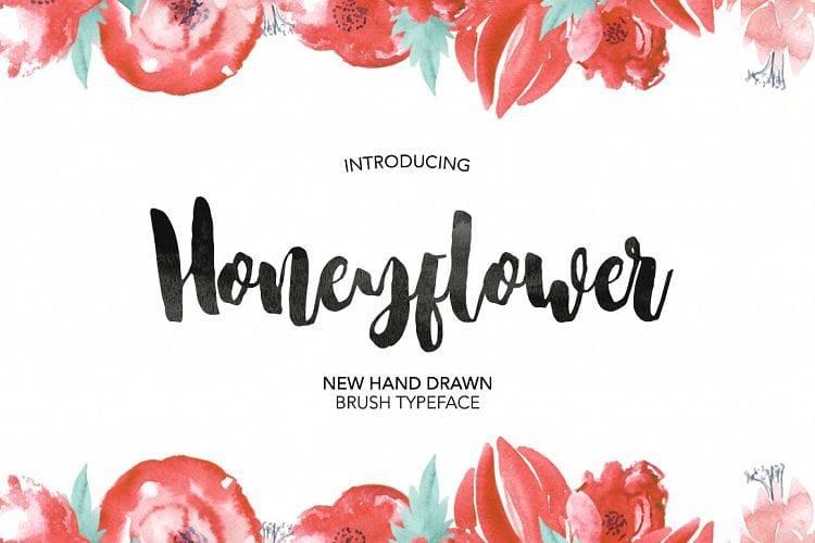 Honeyflower Script Free Font