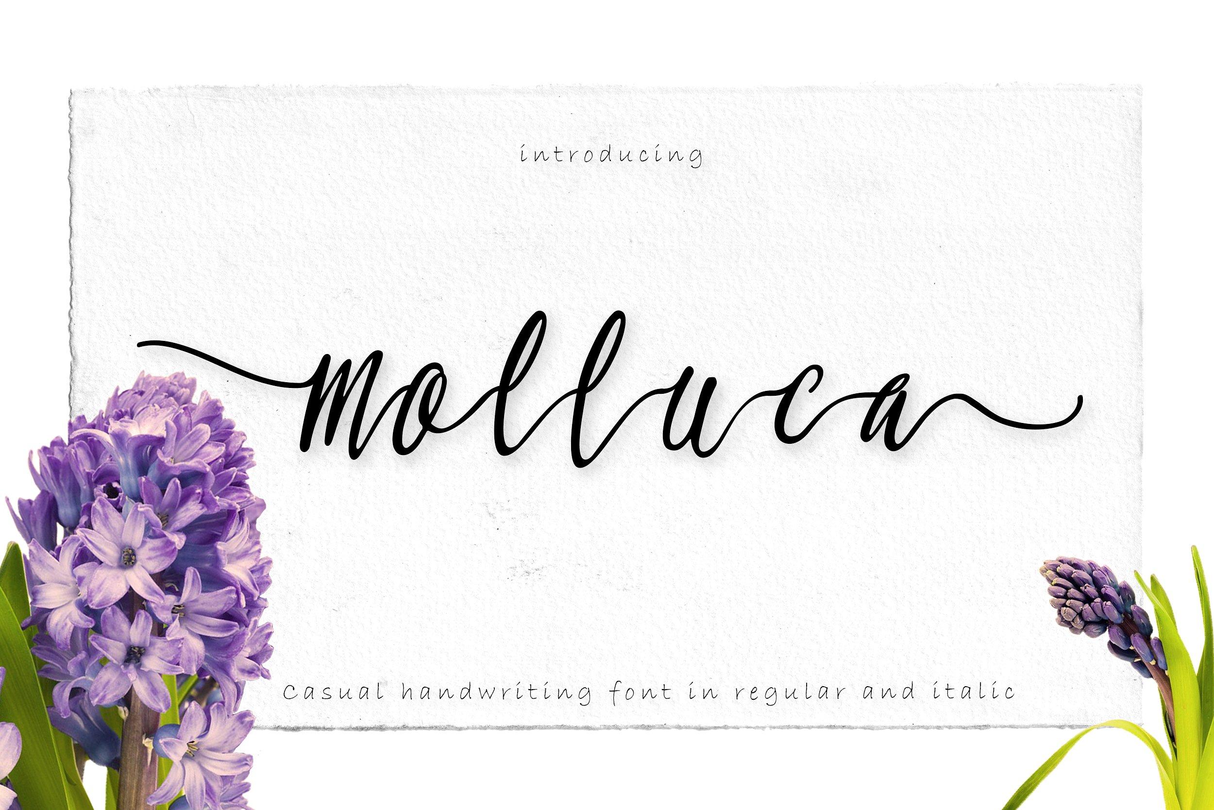 Molluca Free Handwritten Script Font