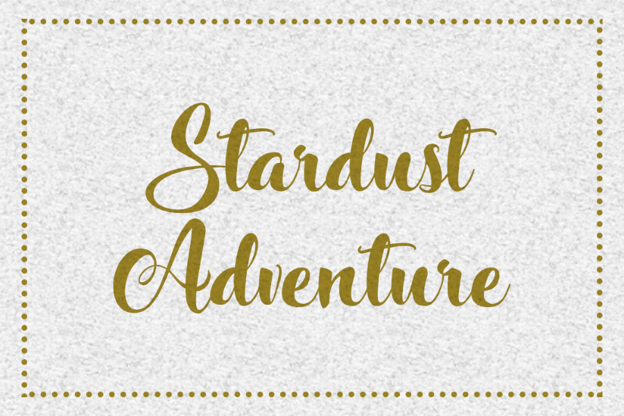 Stardust Adventure Hand Lettered Calligraphy Font Ltheme
