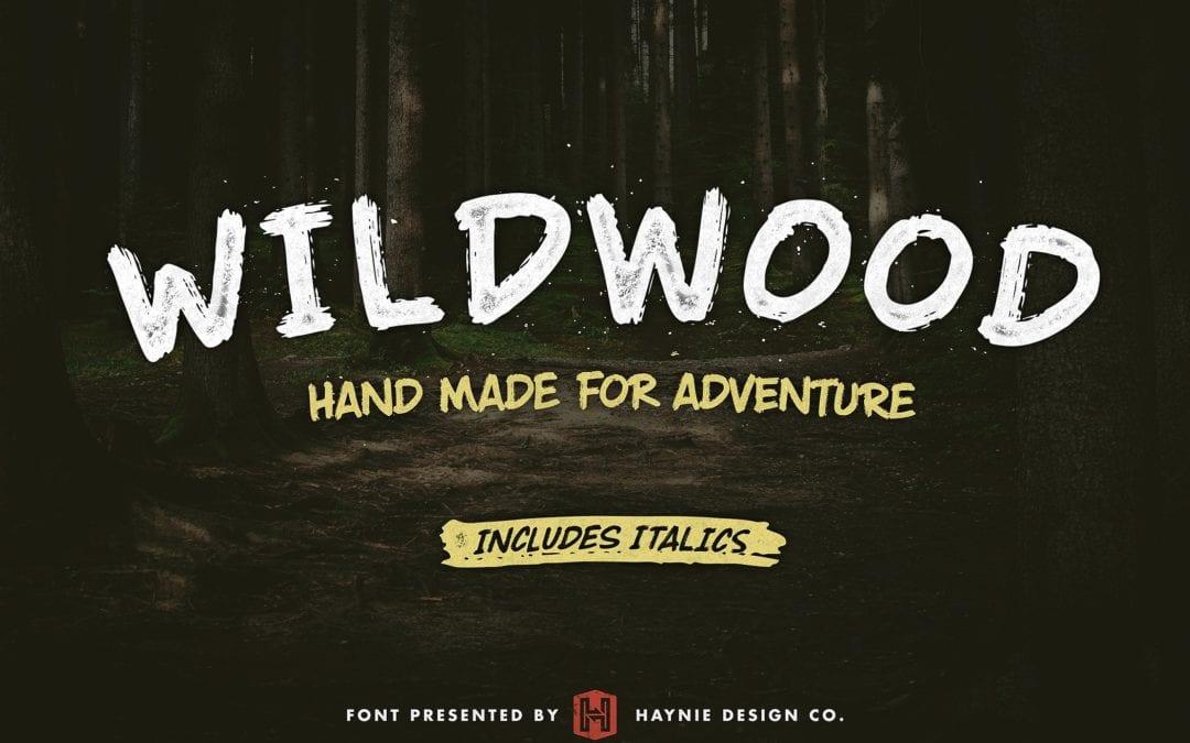 Wildwood Dry Free Brush Script Font