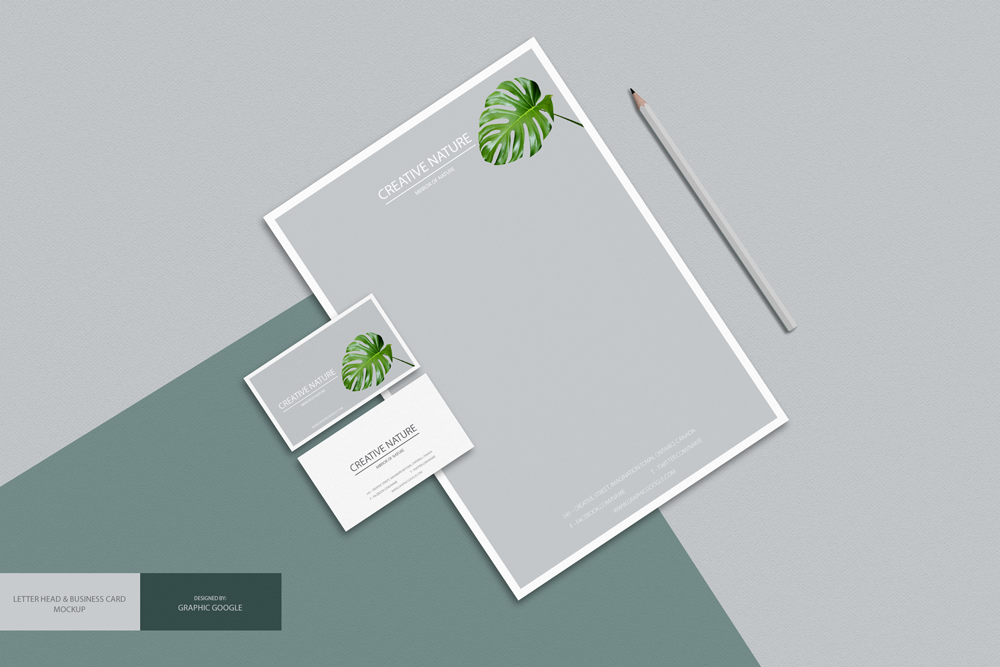 Free Business Card PSD MockUp - Responsive Joomla and Wordpress themes