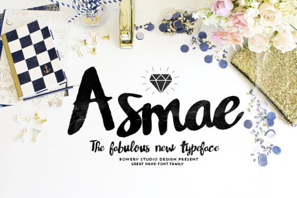 Asmae Free Handwritten Typeface