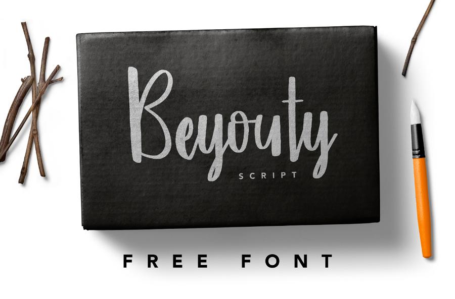 Beyouty Free Script Typefaces