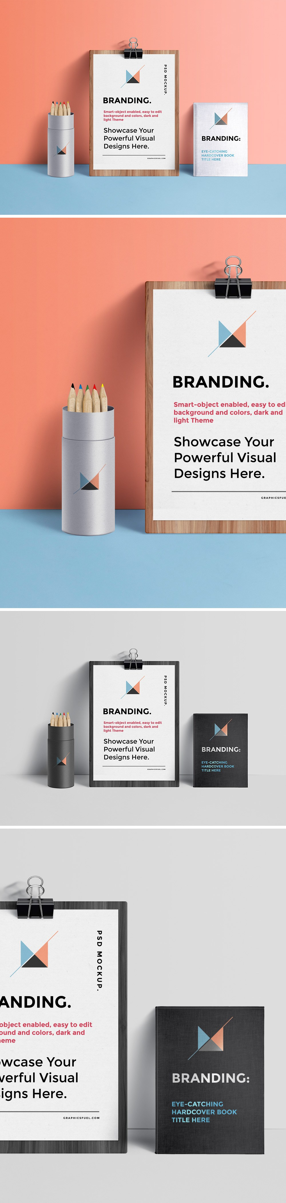 branding identity mockup free psd template responsive joomla and