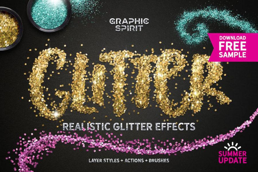 Free Glitter Effect Photoshop