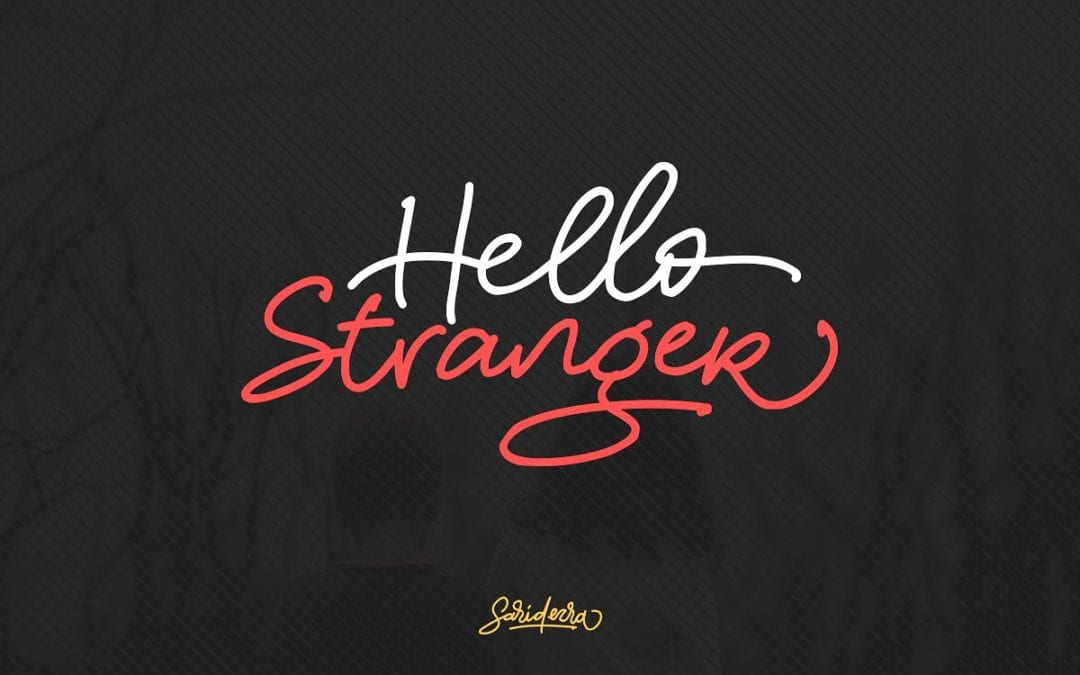 Hello Stranger Free Handwriting Fonts