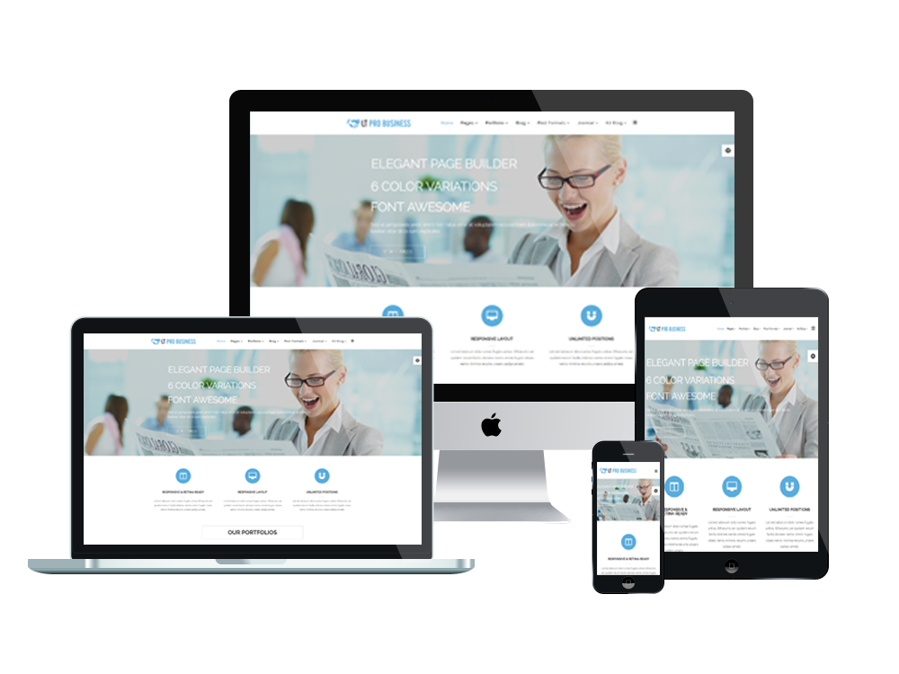 LT Pro Business - Free Pro Business Wordpress theme