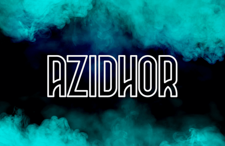 Azidhor Display Typeface