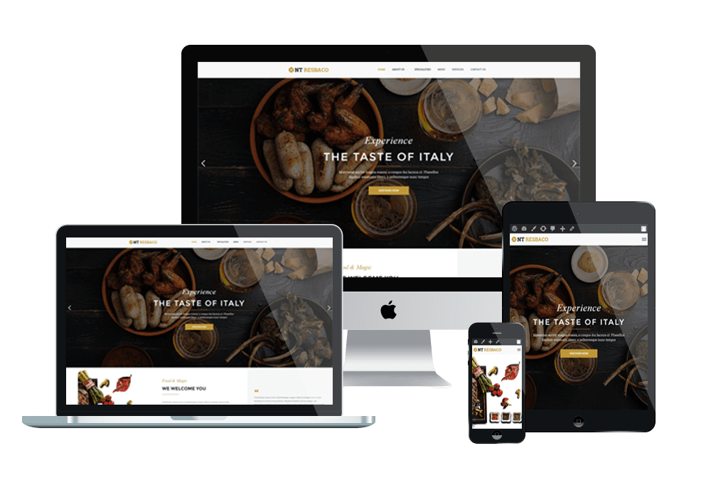 Top Best Free WordPress Restaurant / Food Order Themes 2019