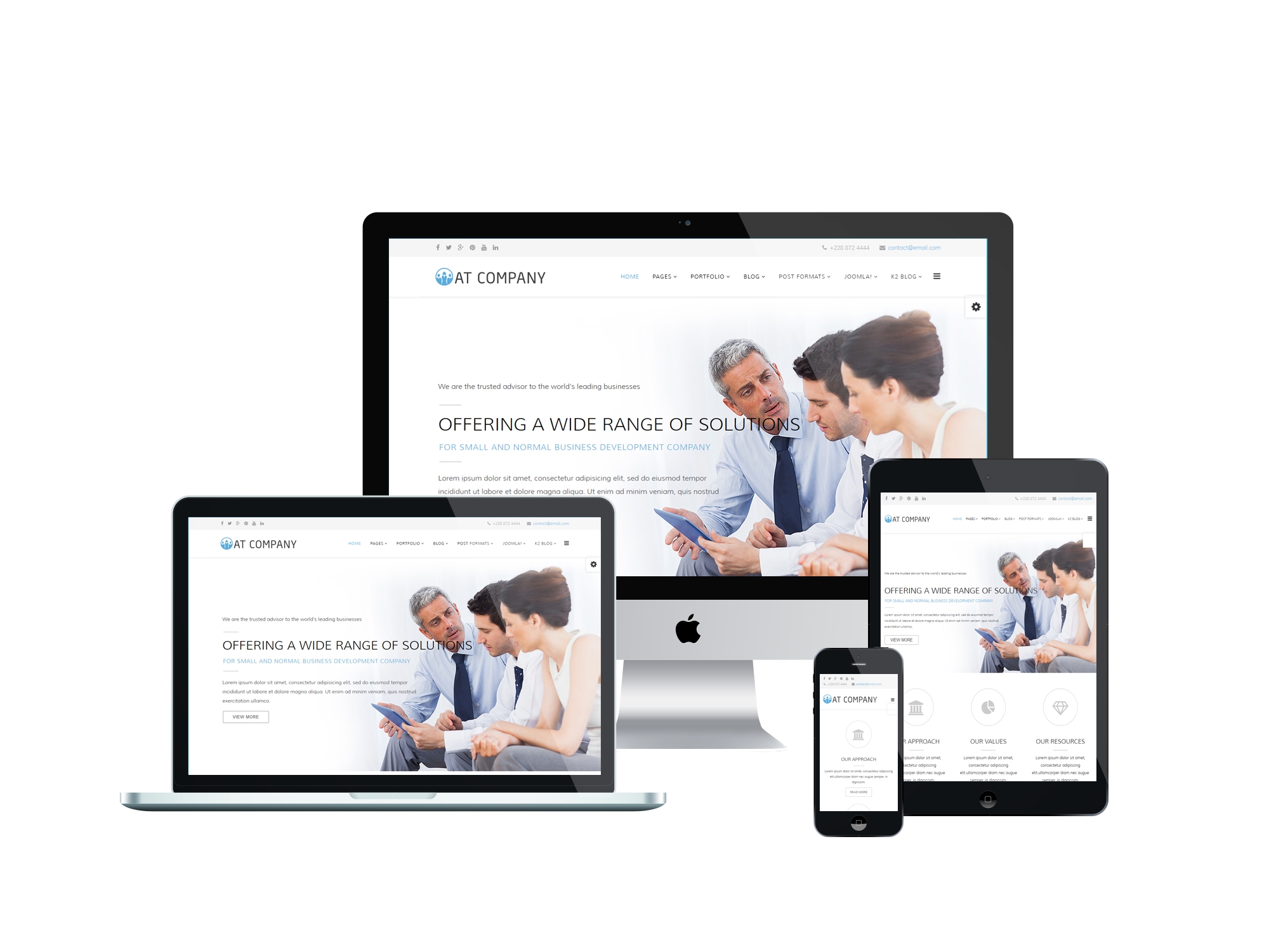 Responsive-Company-Joomla-business-template