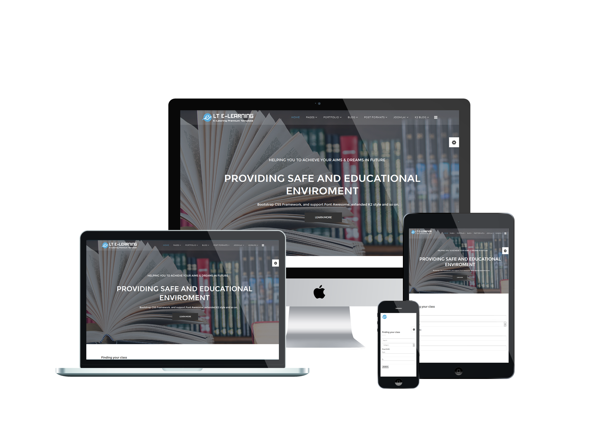 Responsive-eLearning-joomla-template