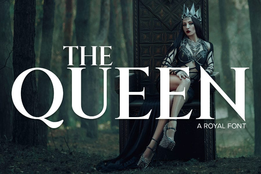The Queen Free Serif Fonts