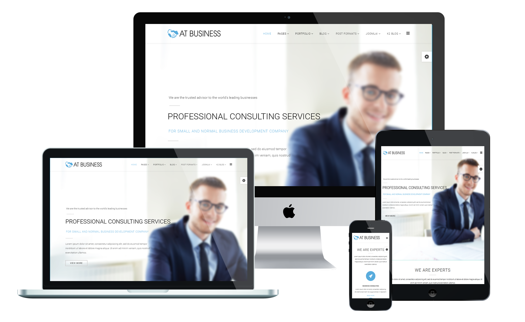 Top best free business corporation joomla 3 templates 2018 at business best joomla business templates fbccfo Images