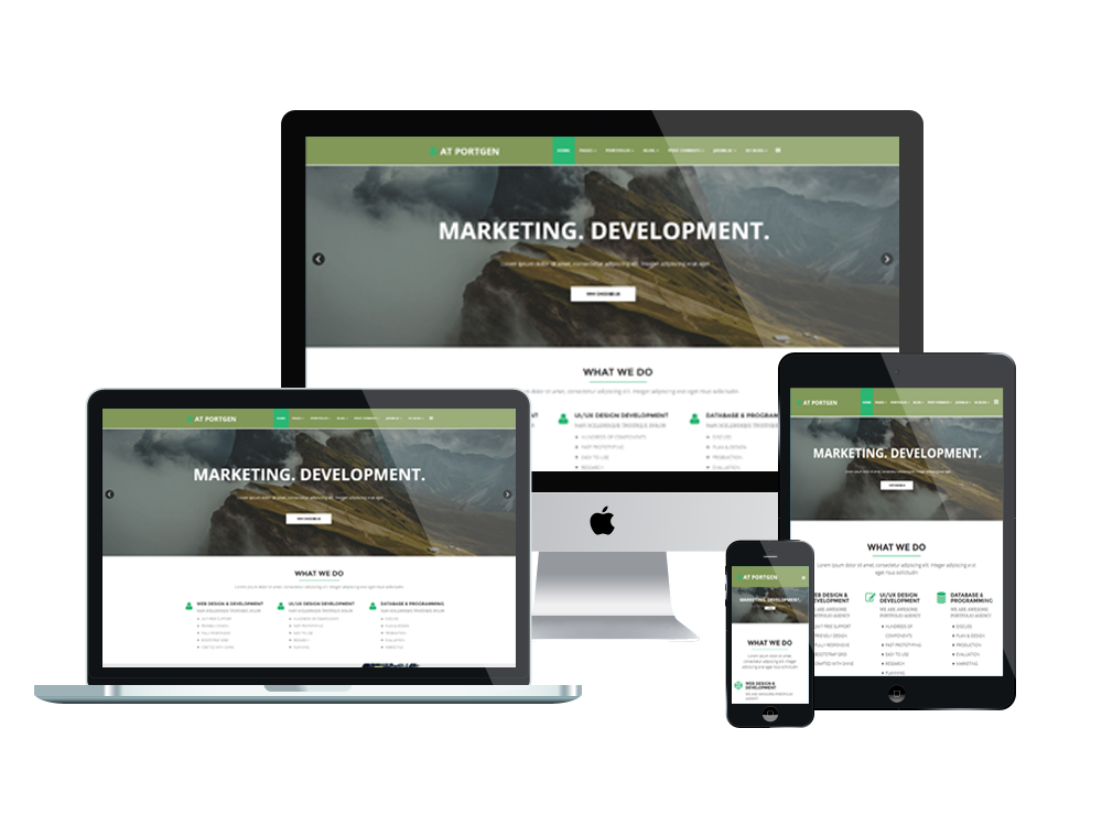 Top best free business corporation joomla 3 templates 2018 at portgen creative portfolio business joomla template flashek Image collections