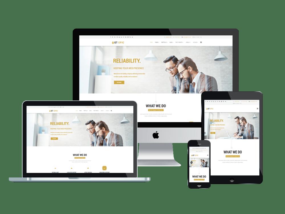 et-epic-responsive joomla business template