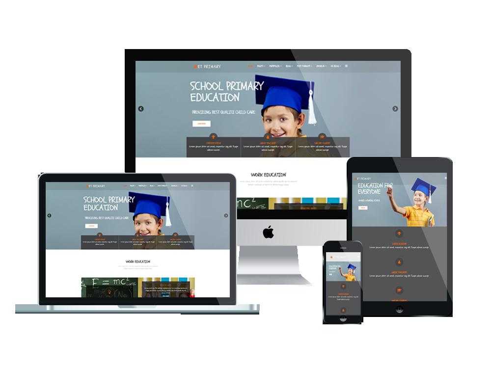 ET Primary – Free Responsive Primary School Joomla! Template