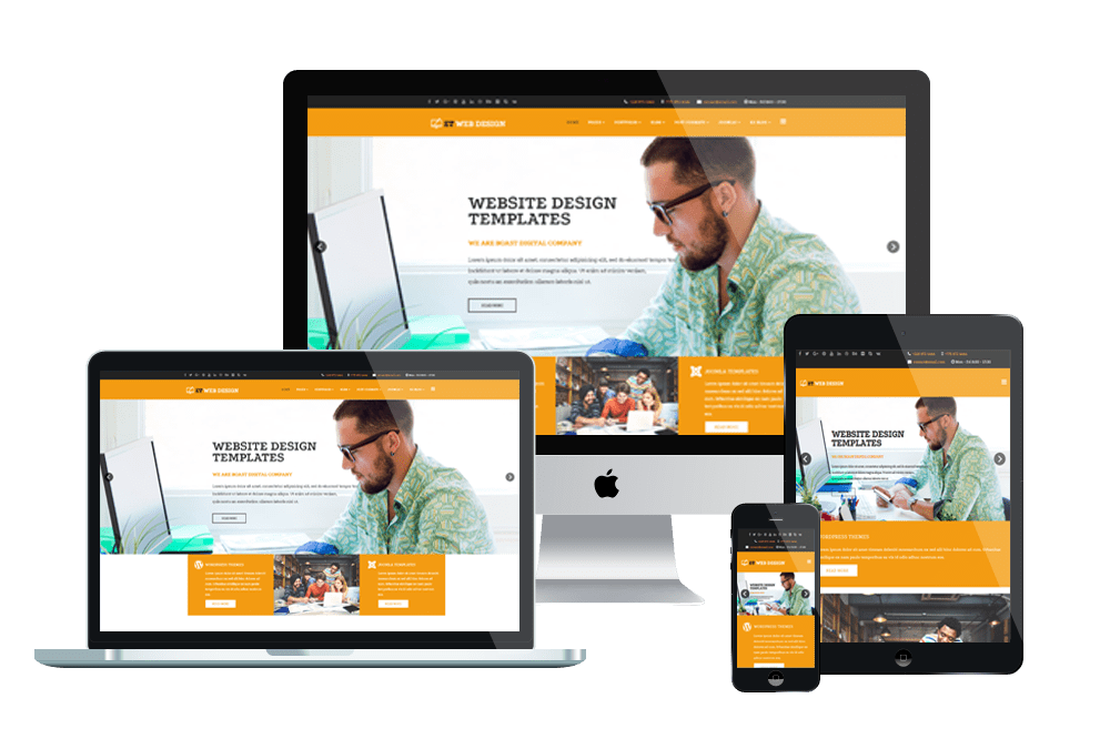 Top Best Creative / Web Design Free Joomla 3 Templates 2018