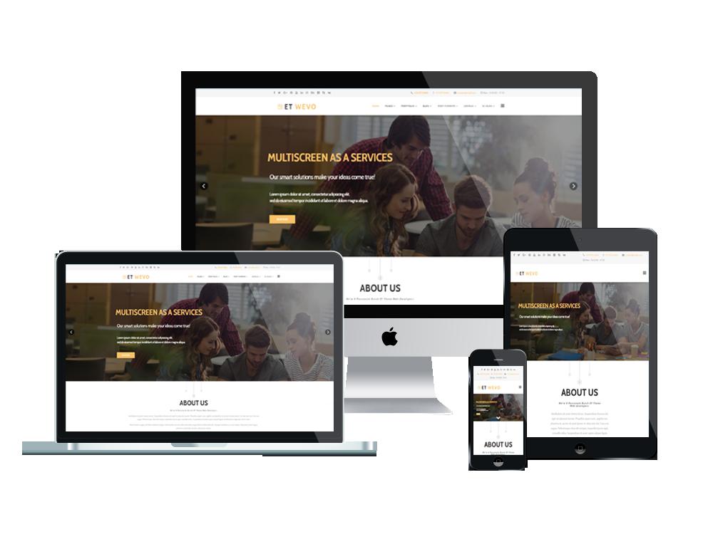 ET Wevo – Free Responsive Web Design Joomla! Template