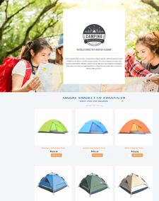 LT Camping – Free Responsive Camping J2Store Joomla Template