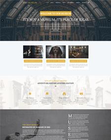 LT Museum – Free Responsive Museum WordPress Theme