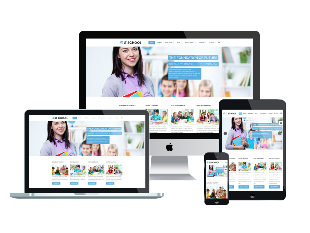 Free Education / School Joomla template