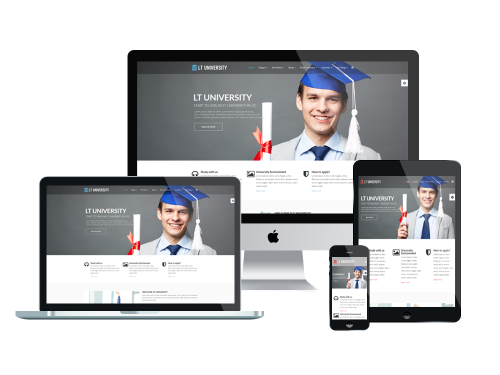 LT University – Free Joomla Education template