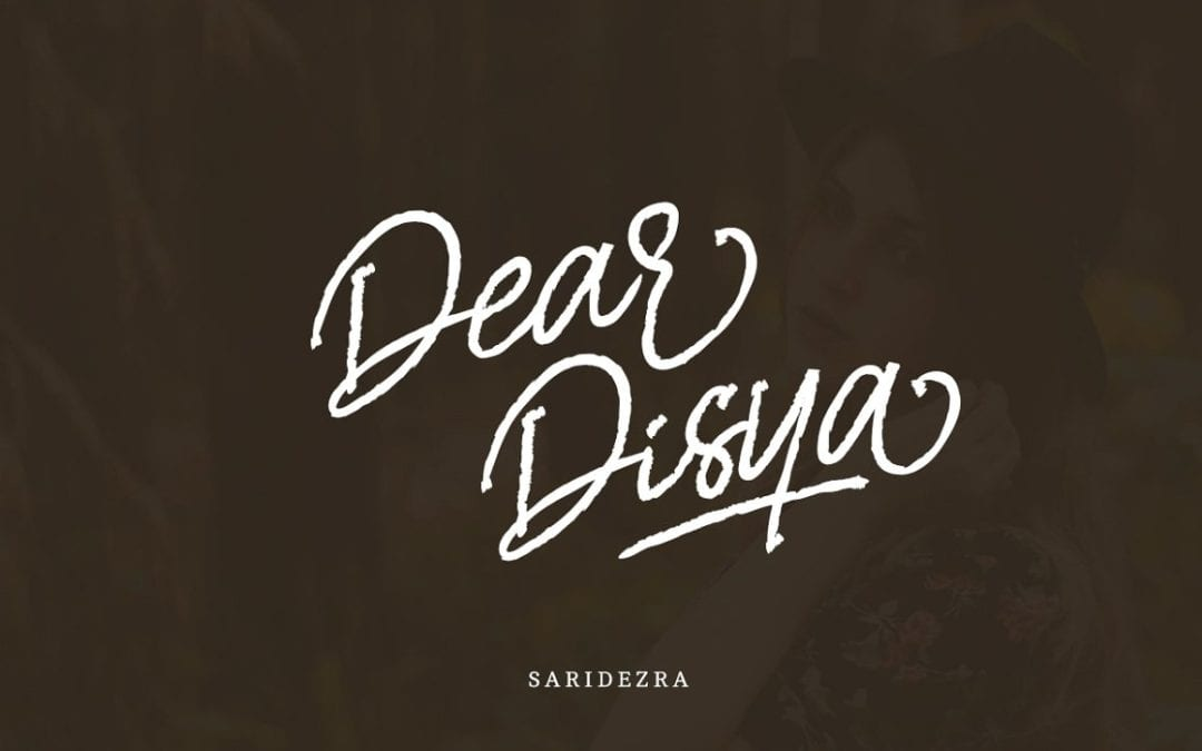 Dear Disya Free Handwritten Script Font