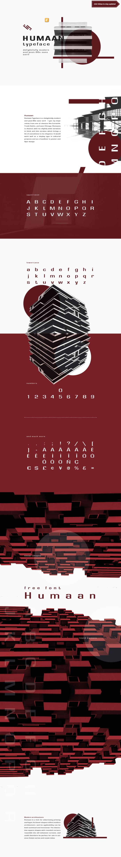 Humaan Sans Serif Typeface