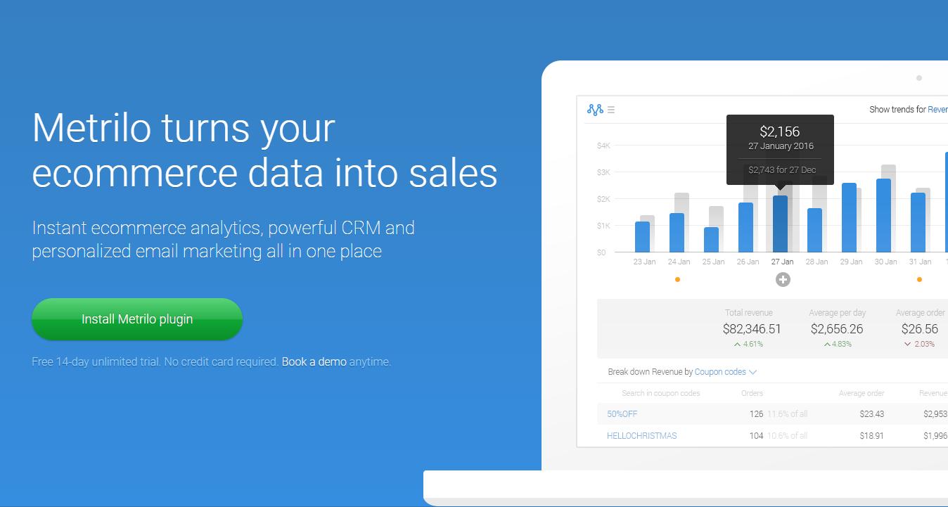 Metrilo WooCommerce Analytics