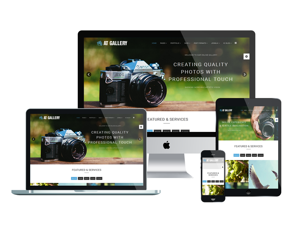 At Gallery Free Photography Image Joomla Template