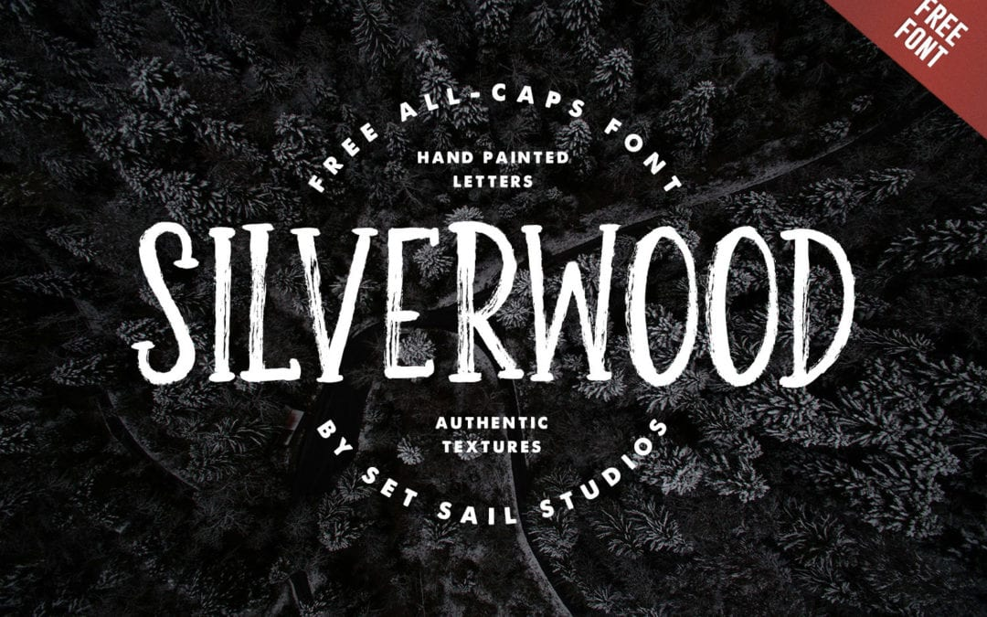 Silverwood – Beautiful Brush Typeface