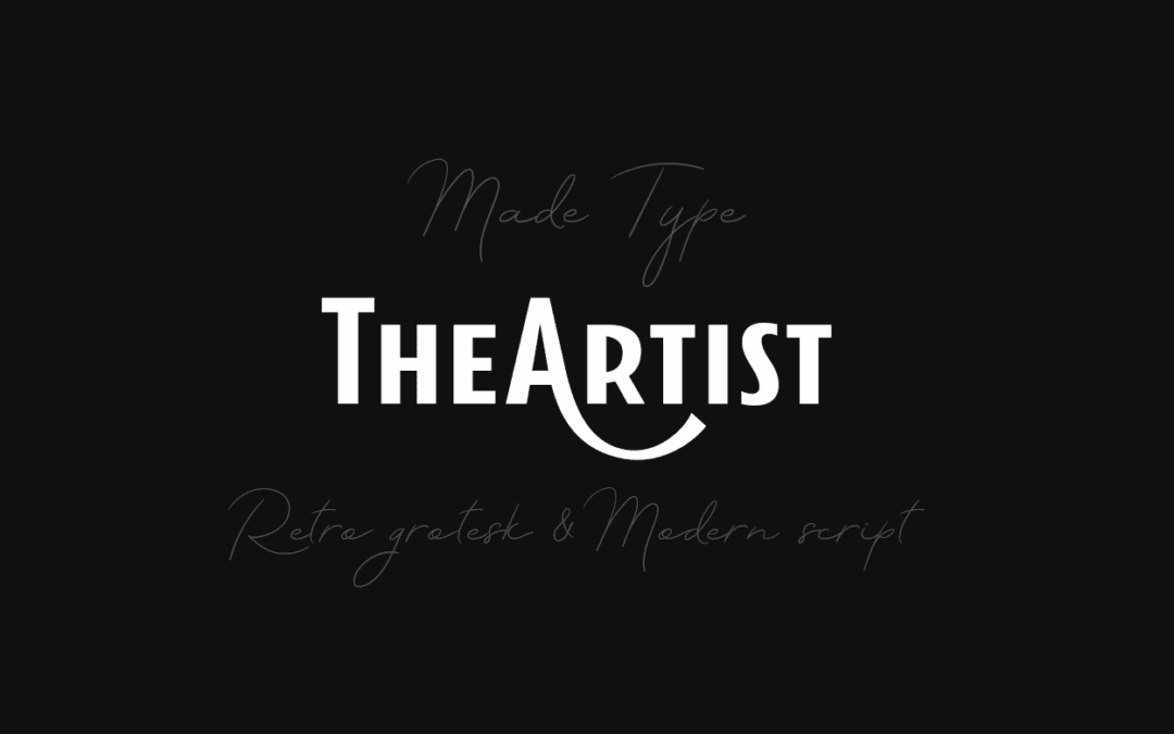 TheArtist Duo Modern Script Typeface