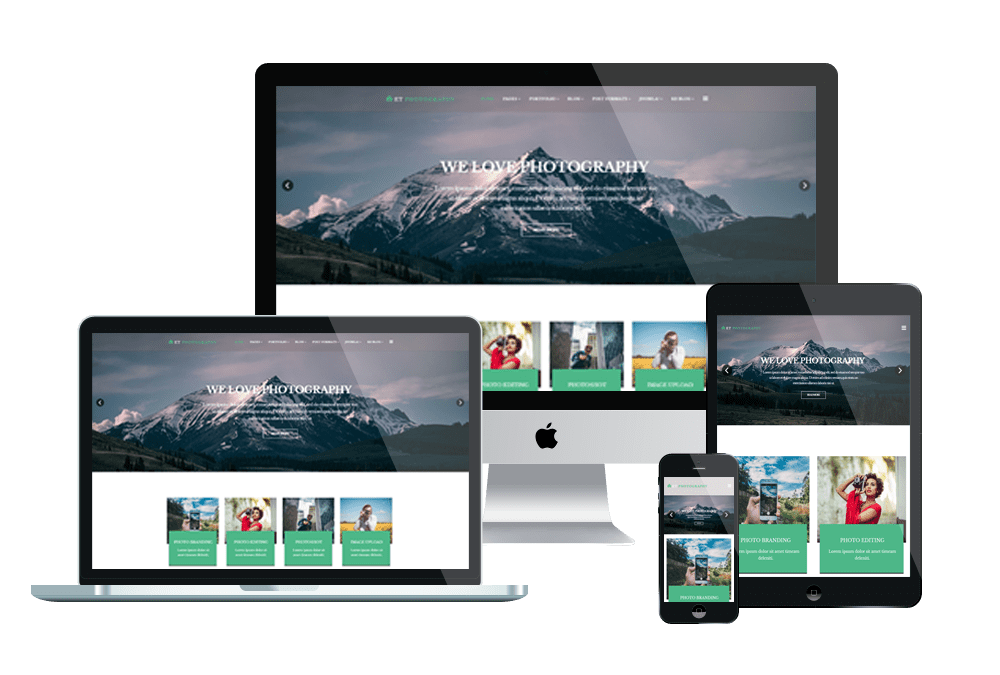 Top Best Free Joomla Image Gallery Photography Website Templates - Free photography website templates