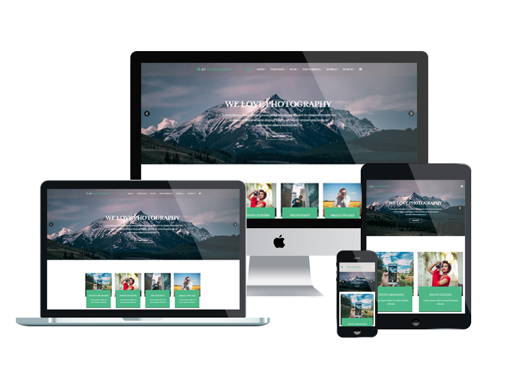 5. ET Photography – Free Responsive Joomla Photography Template