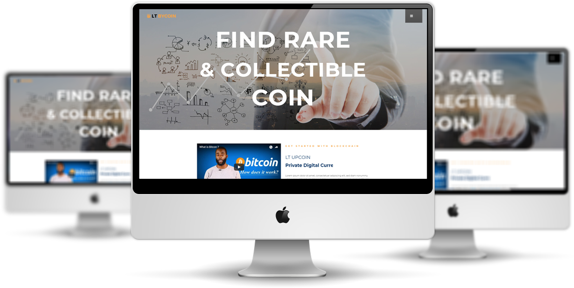 LT ByCoin - Premium Private Cryptocurrency Website Template