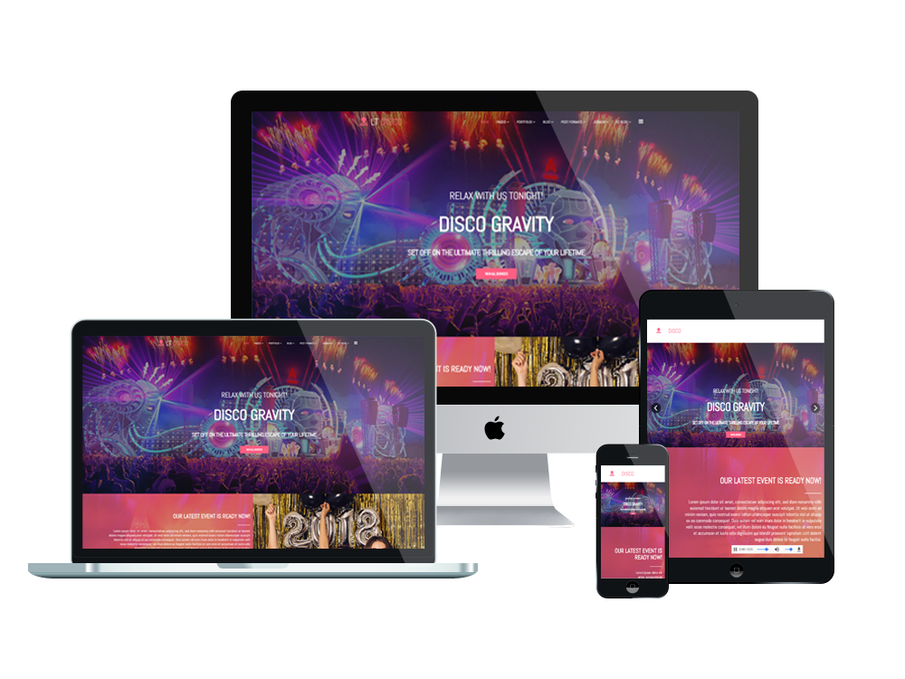 LT Disco - Premium Private Club Joomla Template