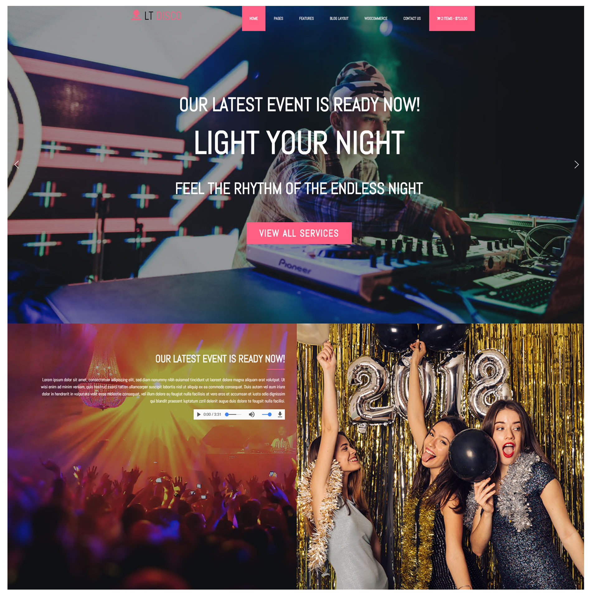 Lt disco free responsive nightclub wordpress theme lt disco free responsive wordpress theme screenshot thecheapjerseys Image collections
