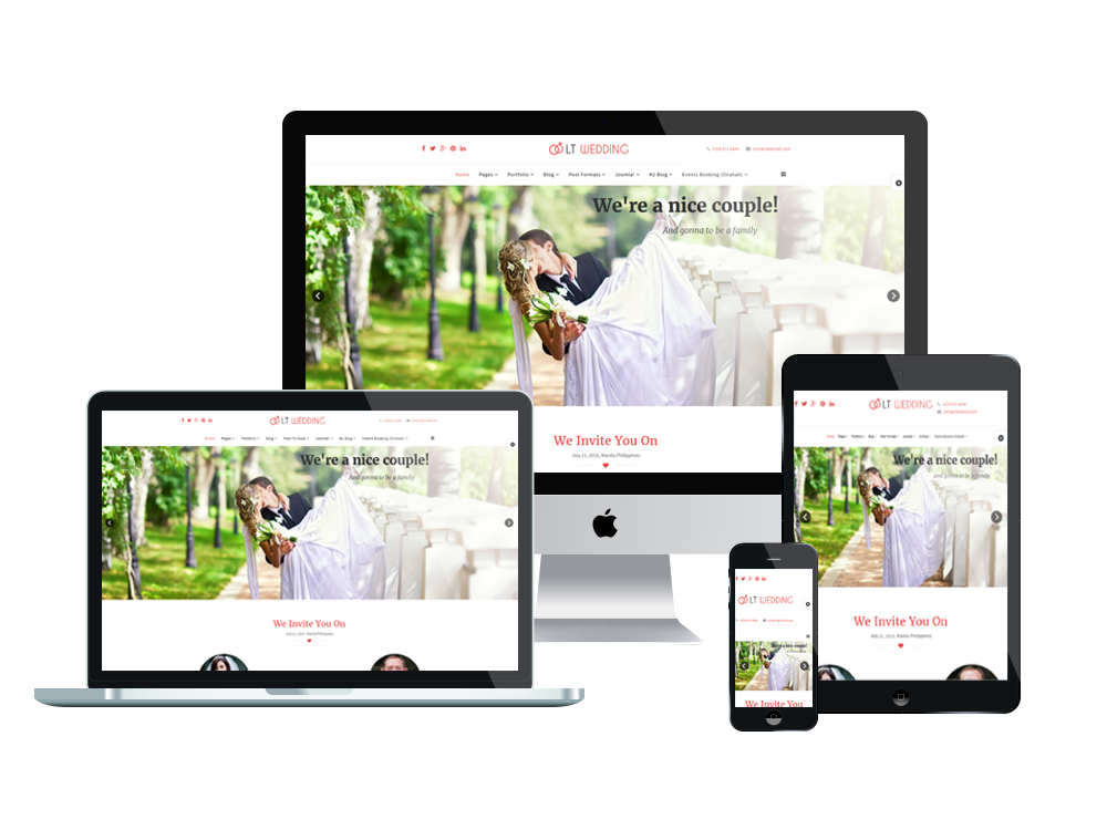 lt-wedding-free-joomla template