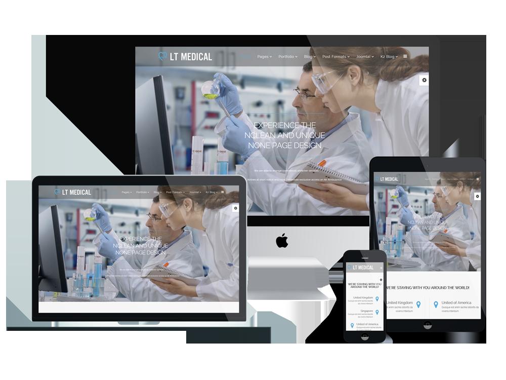 LT Medical - Free Joomla Medical Website Template