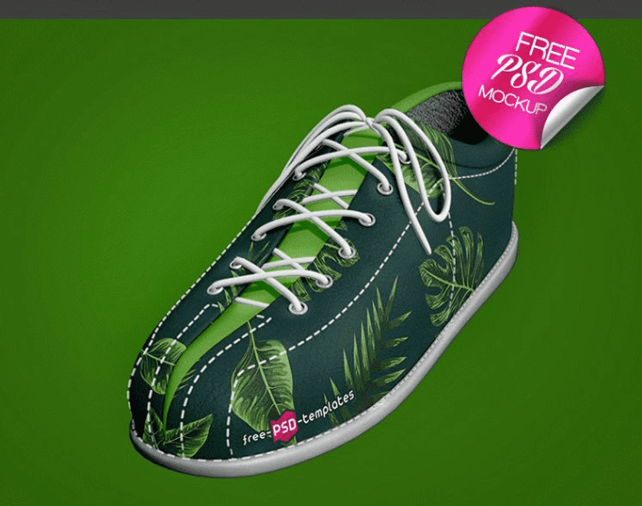 Shoe MockUp PSD Template