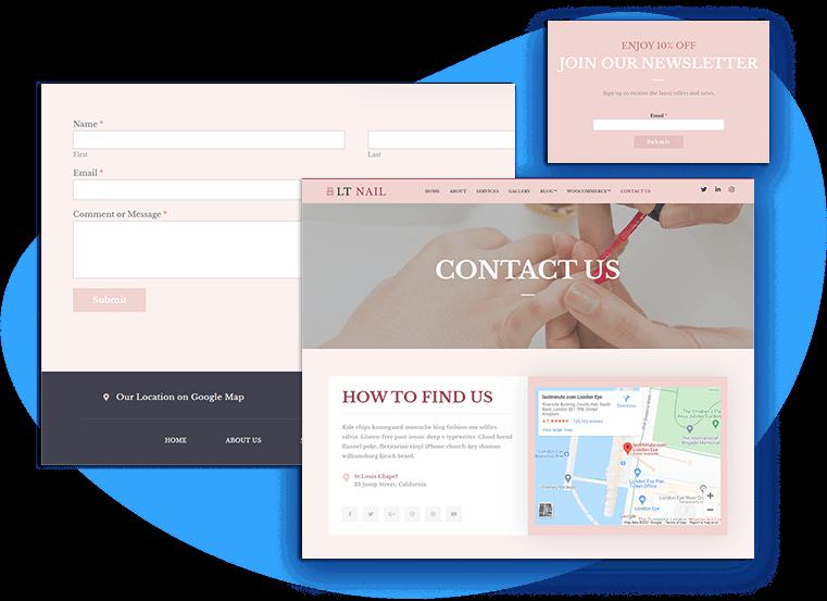 lt-nail-free-joomla-template-contact