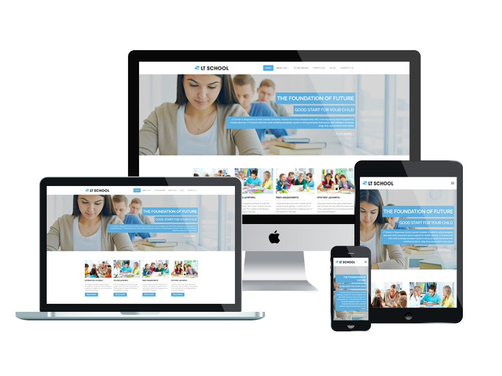 LT School – Free Responsive College / University WordPress theme