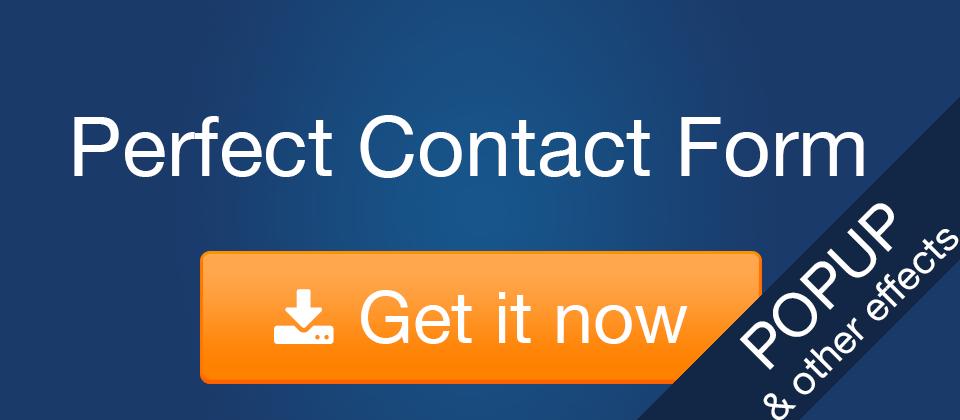 2. Perfect Ajax Popup Contact Form