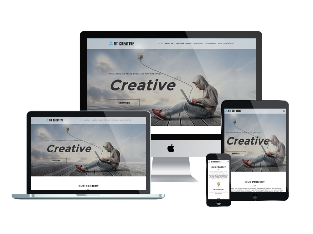 NT Creative – Premium Design / Creative WordPress theme