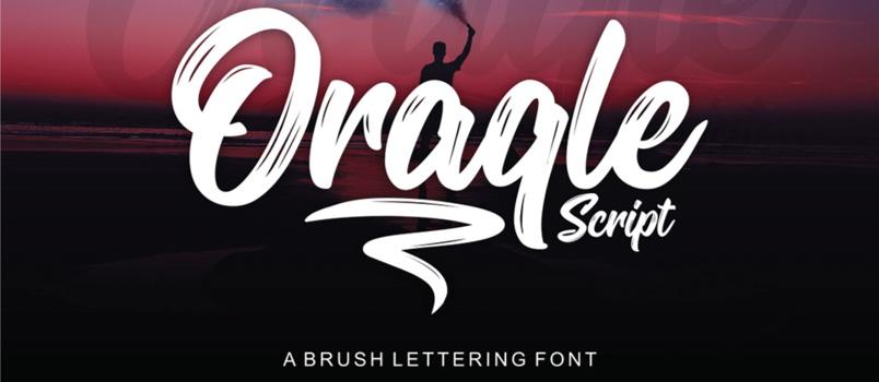 Oraqle Unique Script Fonts